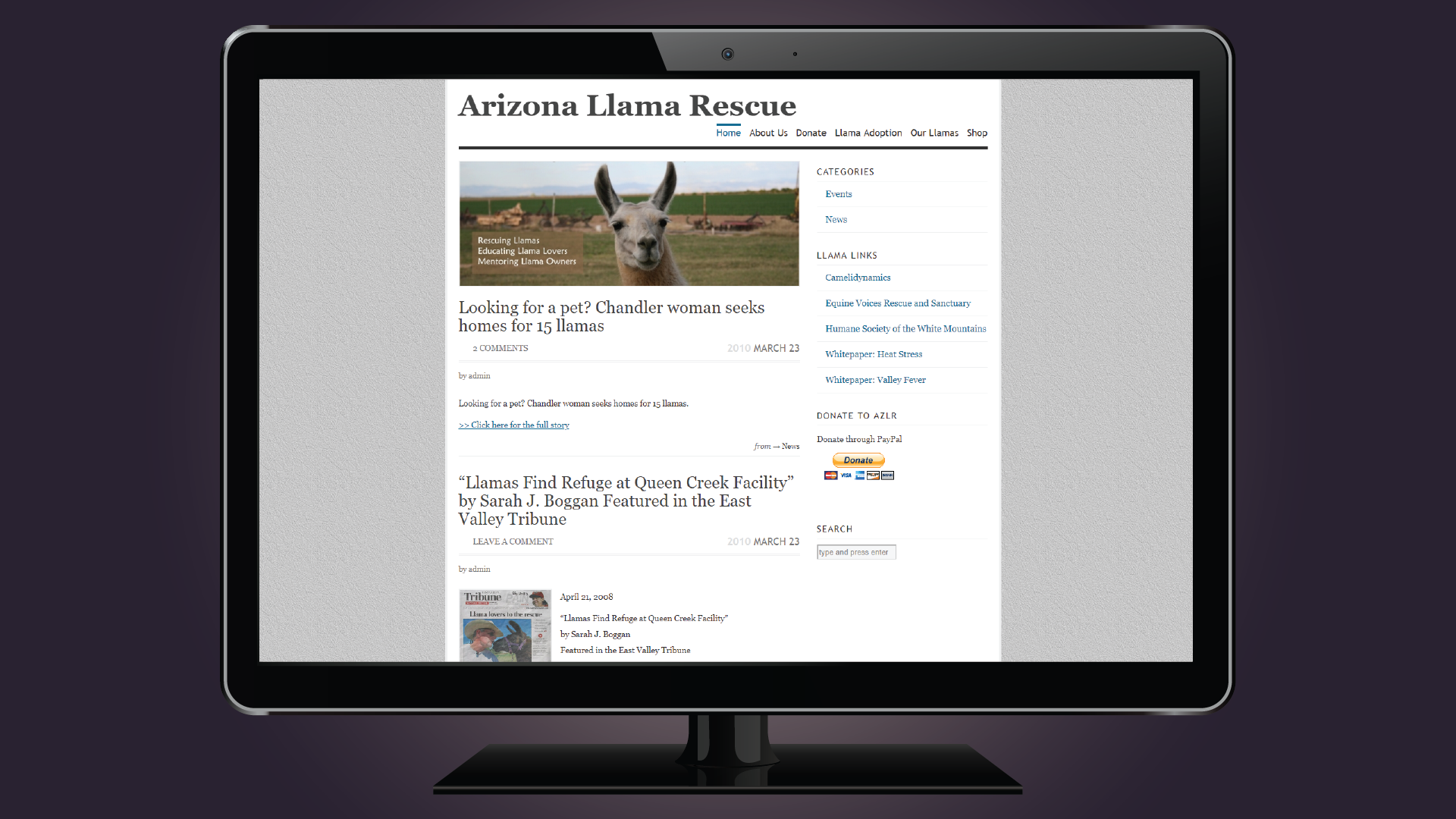 Arizona Llama Rescue